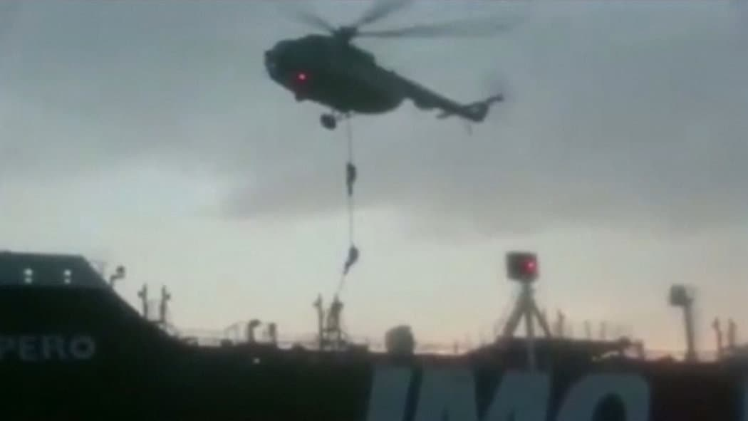 Footage helicopter