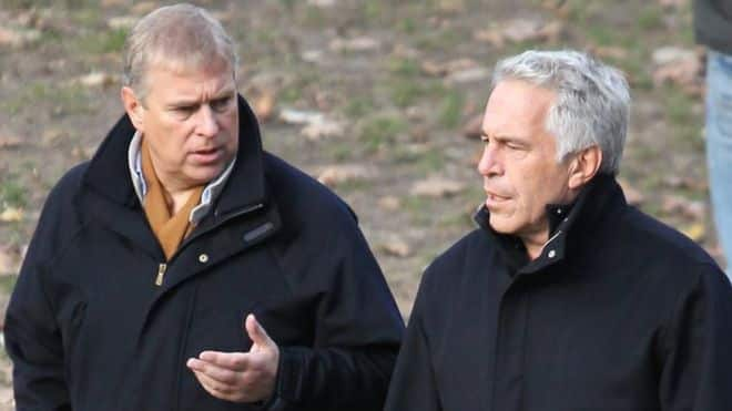 Prince andrew With Jeffrey Epstein
