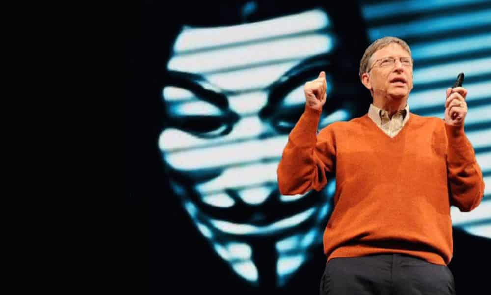 Anonymous Message To Bill Gates