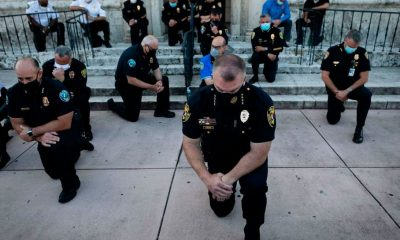 Police Officers Are Joining Protests Against Police Brutality In Some Cities