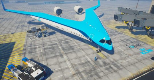 Permalink to V-Shaped Airplane Design Could Change Air Travel Forever