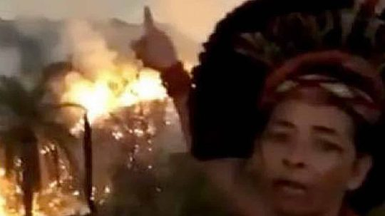 Permalink to The Amazon Rainforest is Deliberately Being Set On Fire, Indigenous Woman Claims