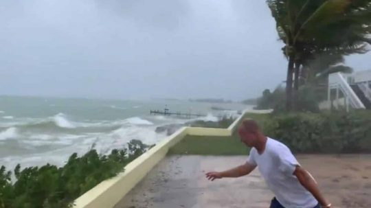 Permalink to First Footage Shows Historic Hurricane Dorian Destroy The Bahamas With 200mph Winds