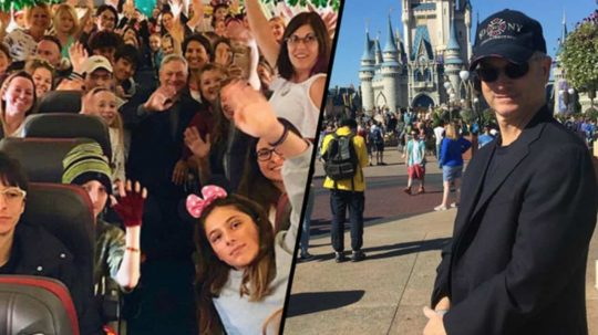 Permalink to Forrest Gump Star Gary Sinise Takes 1,000 Children Of Fallen Soldiers To Disney World