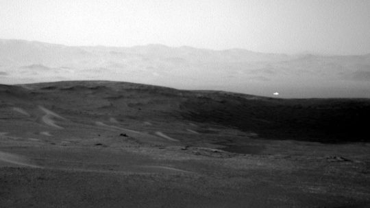 Permalink to Rover Snaps Picture Of Strange Glowing Light On Mars