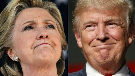 Permalink to Hillary Clinton says Donald Trump 'has betrayed our country'