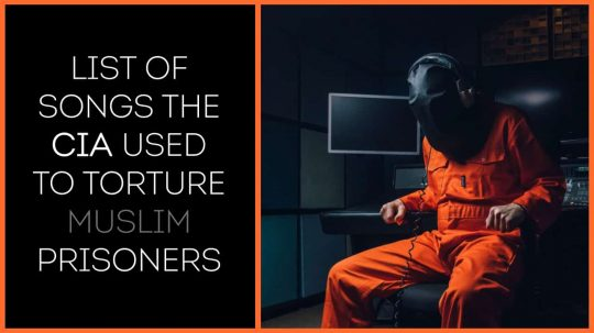 Permalink to List of 20 Songs The CIA Used To Torture Prisoners Of War